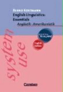 English Linguistics: Essentials