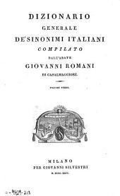 Dizionario generale de' sinonimi italiani: Volume 3