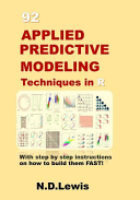92 Applied Predictive Modeling Techniques in R PDF