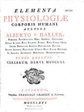 Elementa physiologiae corporis humani, auctore Alberto v. Haller