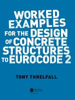 Worked Examples for the Design of Concrete Structures to Eurocode 2 PDF