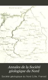 Annales de la Société géologique du Nord: Volume27