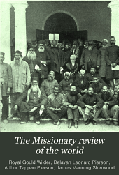 The Missionary Review of the World: Volume 37