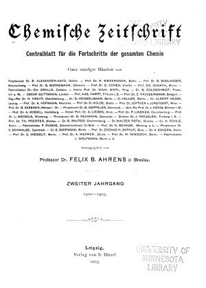 Chemische Zeitschrift PDF
