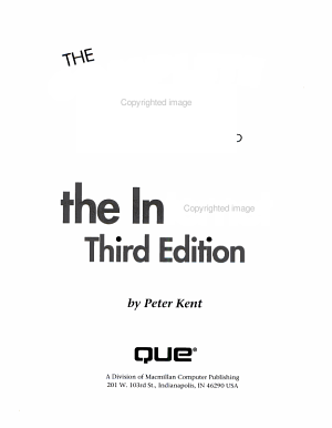 The Complete Idiot s Guide to the Internet