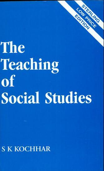 Teaching of social studies PDF