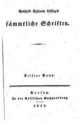 Gotthold Ephraim Lessings Sämmtliche Schriften: Volumes 27-28