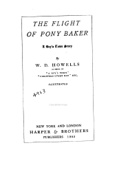 The Flight of Pony Baker: A Boy's Town Story