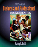 Managing Business and Professional Communication PDF