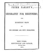Peter Parley's Geography for Beginners