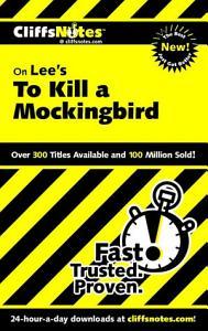 CliffsNotes on Lee s To Kill a Mockingbird PDF