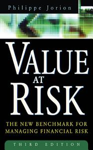 Value at Risk  3rd Ed
