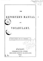 The reporter's manual and vocabulary