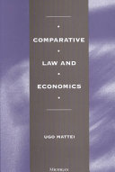 Comparative Law and Economics