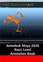 Autodesk Maya 2020 Basic Level Animation Book PDF