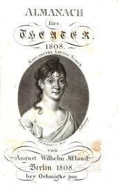 Almanach fürs Theater: 1808