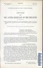 Letter from the Acting Secretary of the Treasury