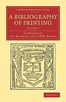 A Bibliography of Printing PDF
