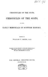 Chronicles of the Picts, Chronicles of the Scots, and Other Early Memorials of Scottish History