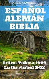 Español Alemán Biblia: Reina Valera 1909 - Lutherbibel 1912