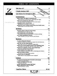 Z Magazine Book PDF
