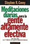 Meditaciones diarias para la gente altamente efectiva