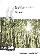 Études économiques de l'OCDE : Chine 2005