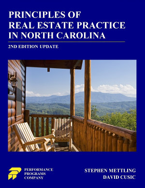 Principles of Real Estate Practice in North Carolina  2nd Edition