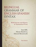 Bilingual Grammar of English Spanish Syntax PDF