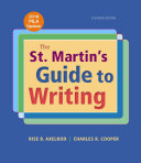 The St  Martin s Guide to Writing with 2016 MLA Update PDF