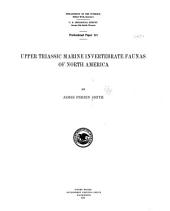 Upper Triassic marine invertebrate faunas of North America