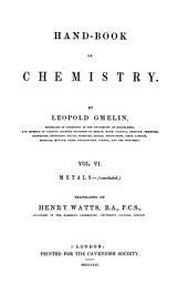Hand-book of chemistry: Volume 6