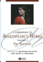 A Companion to Shakespeare s Works  Volume I PDF