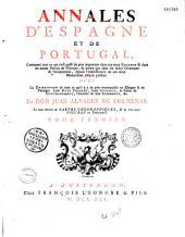 Annales d'Espagne et de Portugal... par don Juan Alvarez de Colmenar,... [Traduit par P. Massuet]