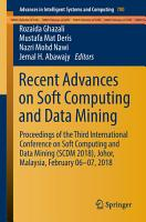 Recent Advances on Soft Computing and Data Mining PDF