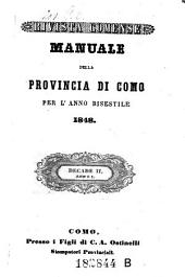 Almanacco Della Provincia Di Como: Volume 7