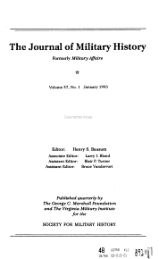 The Journal of Military History PDF