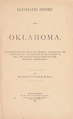 Illustrated History of Oklahoma PDF