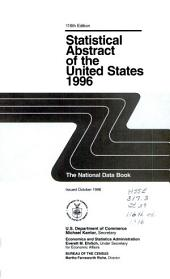 Statistical Abstract of the United States: Volume 116, Part 1996