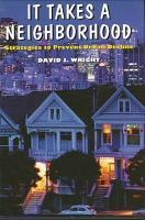It Takes a Neighborhood PDF