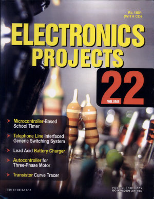 Electronics Projects Vol  22  With CD  PDF