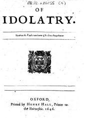 Of Idolatry