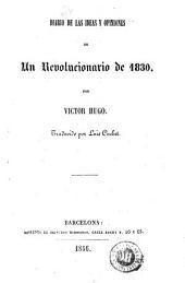 Diario de las ideas y opiniones de un revolucionario de 1830