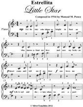 Estrellita Little Star - Beginner Piano Sheet Music