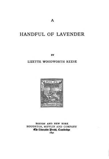 A handful of lavender PDF