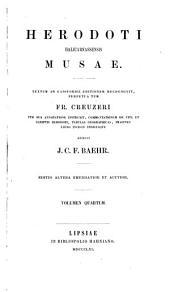 Herodoti Halicarnassensis Musae: Urania. Calliope