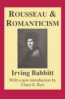 Rousseau and Romanticism PDF