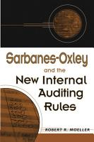 Sarbanes Oxley and the New Internal Auditing Rules PDF