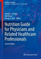 Nutrition Guide for Physicians and Related Healthcare Professionals PDF
