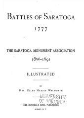 Battles of Saratoga, 1777: The Saratoga Monument Association, 1856-1891
